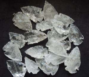 Quartz Arrowhead