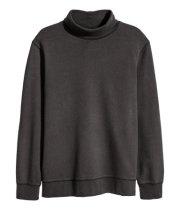Baggy Turtleneck Sweatshirt