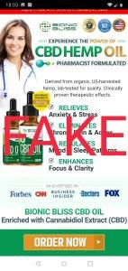 fake cbd scam