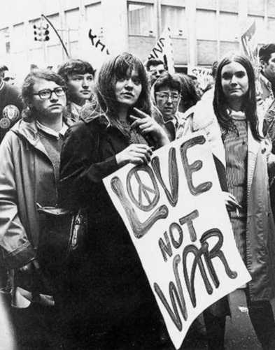 make-love-not-war-sign