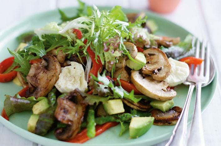Slikovni rezultat za gljive salata