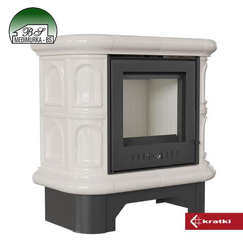 WK 440/KAFEL/K peć na drva Kratki