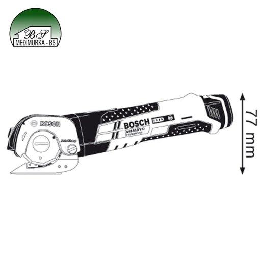 Akumulatorske škare za lim-Bosch-GUS-12V 300 Professional primjena