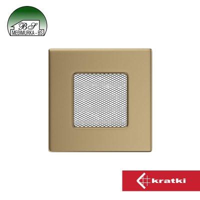 Ventilacijske rešetke / zlatne - galvanizirane