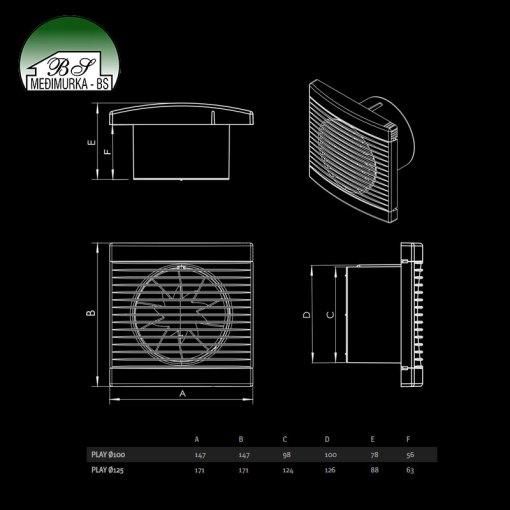 Play- aksijalni ventilatori