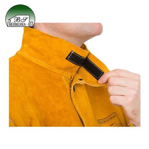 Kožna jakna za zavarivanje GoldenBrown