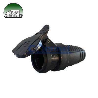 Natikač gumeni s poklopcem i kontaktom za uzemljenje
