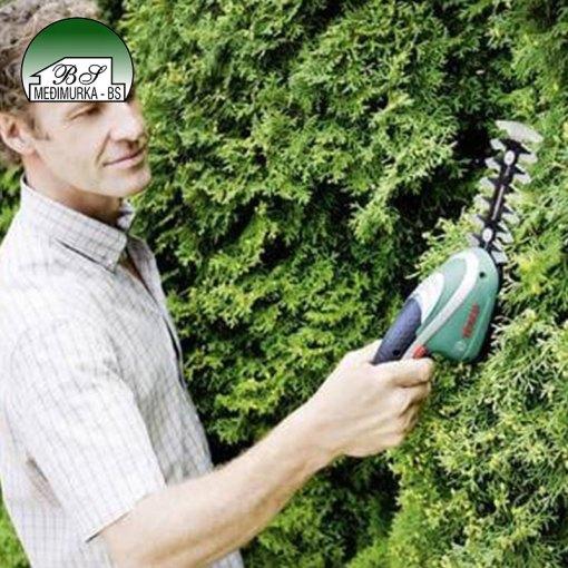 Set akumulatorskih škara za grmlje i travu Isio BOSCH