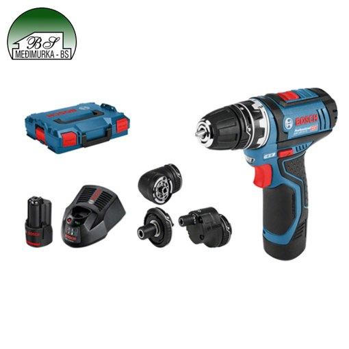 Akumulatorska bušilica-izvijač GSR 12V-15 FC Professional BOSCH