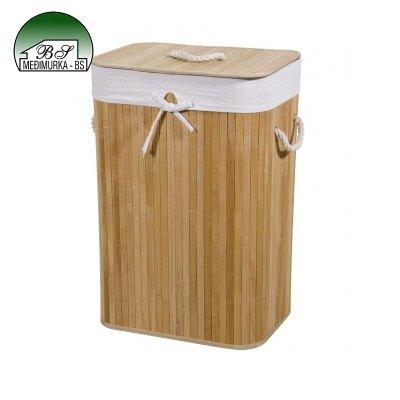 Košara za rublje od bambusa