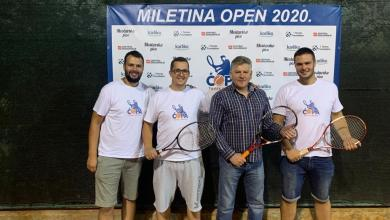 Photo of Završio teniski turnir Miletina open