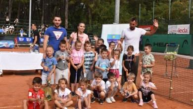 Photo of 100-tinjak djece na Festivalu tenisa u Međugorju