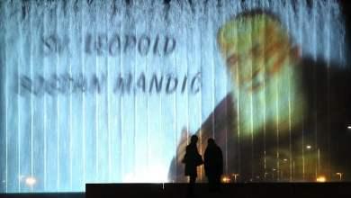 Photo of VIDEO Hrvatski blaženici i sveci na zagrebačkim fontanama