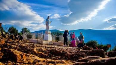 """Photo of Gospa se 3. dan ukazanja predstavila sa: """" Ja sam Blažena Djevica Marija, Kraljica mira."""""""