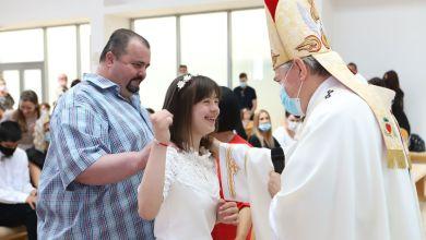 Photo of Djeca i mladi s posebnim potrebama u Splitu primili sakramente prve pričesti i krizme