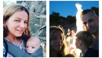 """Photo of Marija Husar Rimac: """"Srce mi je puno što sam mogla odnijeti sinove na Podbrdo i prikazati Gospi"""""""