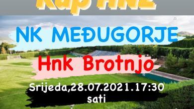 Photo of KUP HNŽ: Općinski derbi između NK Međugorje i HNK Brotnjo