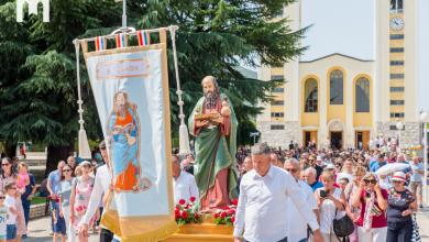 Photo of FOTO Svečanim misnim slavljem obilježen blagdan sv. Jakova, patrona župe Međugorje