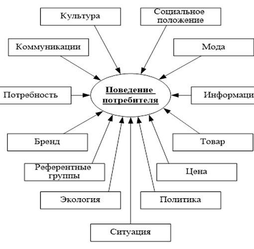 Курсовая работа - Особенности потребительского поведения как фактор повышения эффективности деятельности аптечной организации