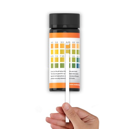 ph strips bottle chart