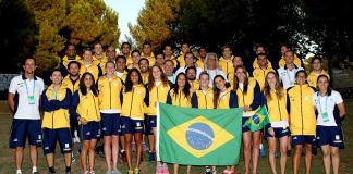 Último dia de Mundial de Esportes Aquáticos (Foto: Satiro Sodré)