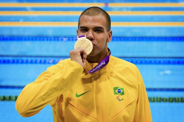 André Brasil se prepara para as Paralimpíadas do Rio