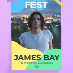 james bay - FEST festival 2020