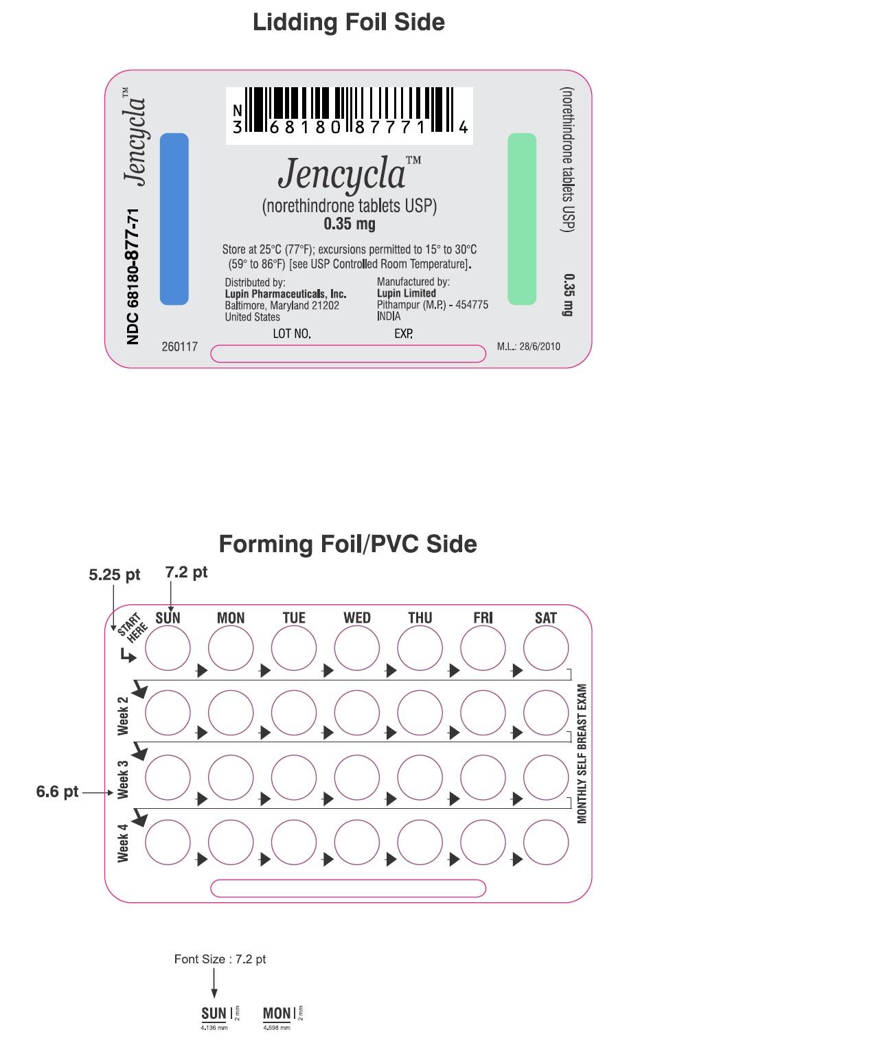 Jencycla (Lupin Pharmaceuticals Inc.): FDA Package Insert ...