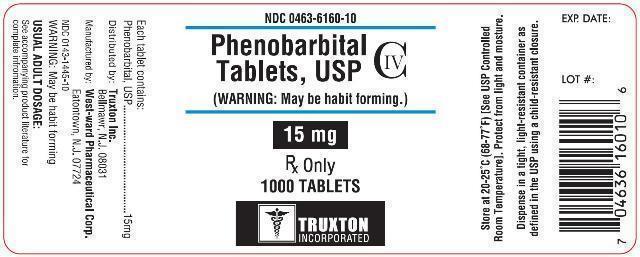 Phenobarbital (C.O. Truxton, Inc.): FDA Package Insert, Page 2