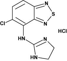 Tizanidine Hydrochloride (STAT Rx USA LLC): FDA Package Insert
