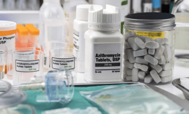 Azithromycin shown to be ineffective in treating COVID-19