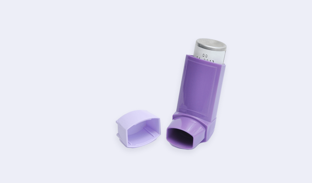 Asthma-Inhalator