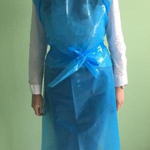 Avental Azul