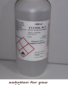 alkohol , Etanol denaturirani 96 %