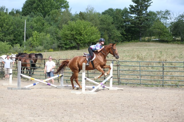 Camp medolark has many horse back riding options
