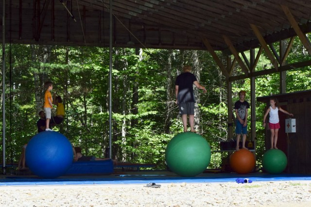 learning to balance in circus arts