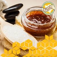 Скраб для тела кофе и мёд