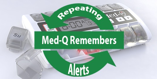 Med-Q Automatic pill dispenser for Alzheimer's patients is a