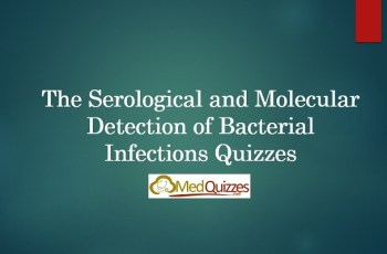 Serological and Molecular Detection of Bacterial Infections