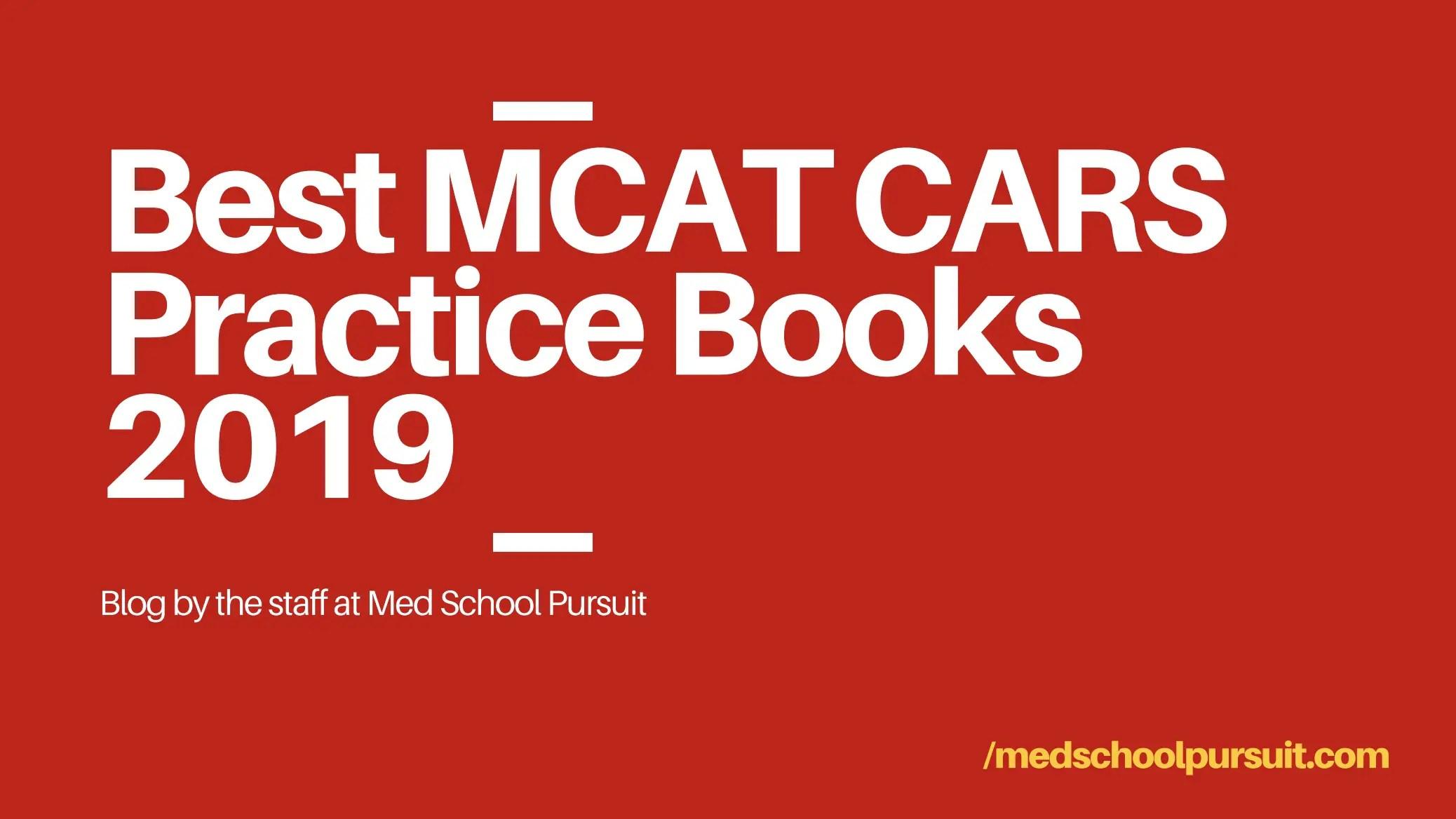 Best MCAT Prep Books 2019 - Med School Pursuit