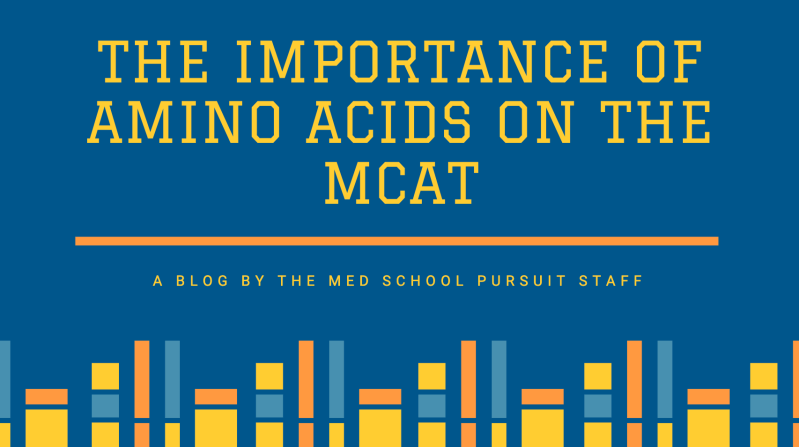 The importance of Amino Acids on the MCAT