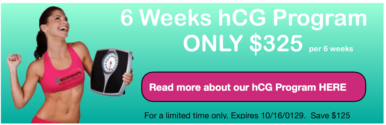 hCG weight loss special