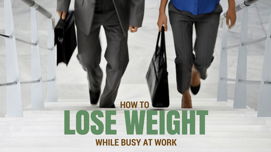 lose weight at work