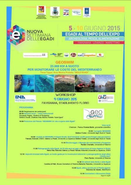 MedSharks è partner di GeoSwim, progetto di rilevamento a nuoto delle coste rocciose del Mediterraneo, per la mappatura della Patella ferruginea