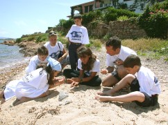 educazione ambientale con i ragazzi delle scuole