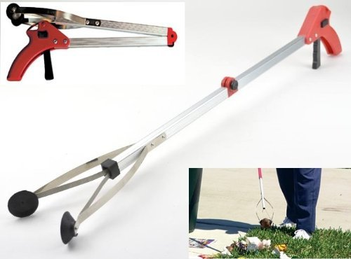 12-Pack-Lot-Folding-Pick-Up-Tool-Grabber-30-Reacher-Stick-Reaching-Grab-Extend-Reach-0