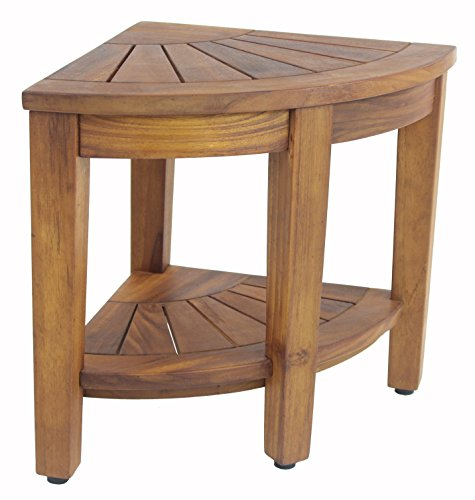 155-Teak-Shower-Bench-With-Shelf-From-the-Corner-Collection-0