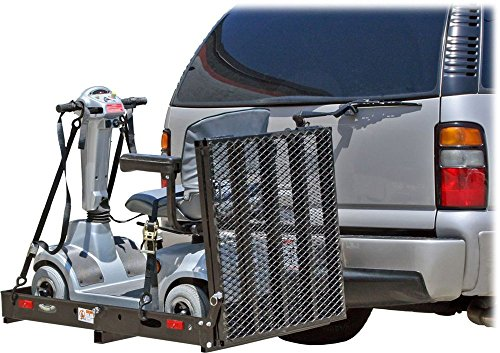 ALEKO-500Lb-Capacity-Wheelchair-and-Power-Scooter-Folding-Cargo-Carrier-Rack-with-the-Foldable-Ramp-0