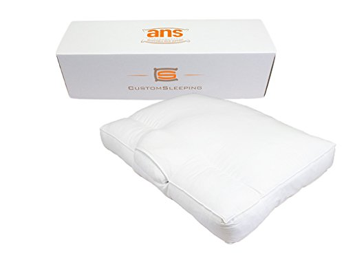 Adjustable-Neck-Support-ANS-Cervical-Bed-Pillow-Unique-Shredded-Gel-Memory-Foam-Cluster-Fiber-Blend-with-COOL-MAX-pillow-USA-made-0-0