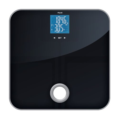American-Weigh-Scales-MSL-180-Mercury-SL-Black-Glass-Top-Bathroom-Scale-with-ITO-Sensors-and-396-Pound-Capacity-0-0